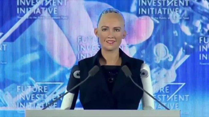 Sophia-Robot