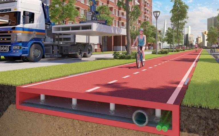 The PlasticRoad concept could be a revolution in building roads