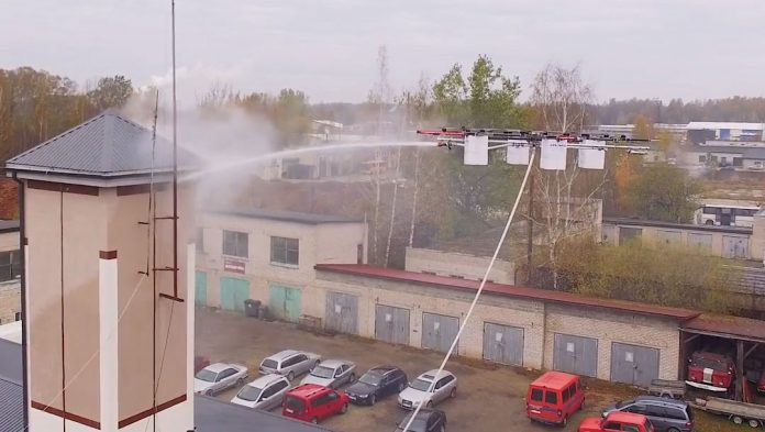 Aerones-Firefighting-Drone