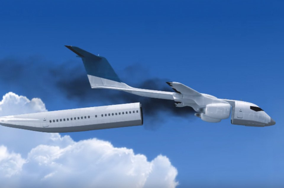 Detachable Cabin Could Save Lives During Plane Crashes