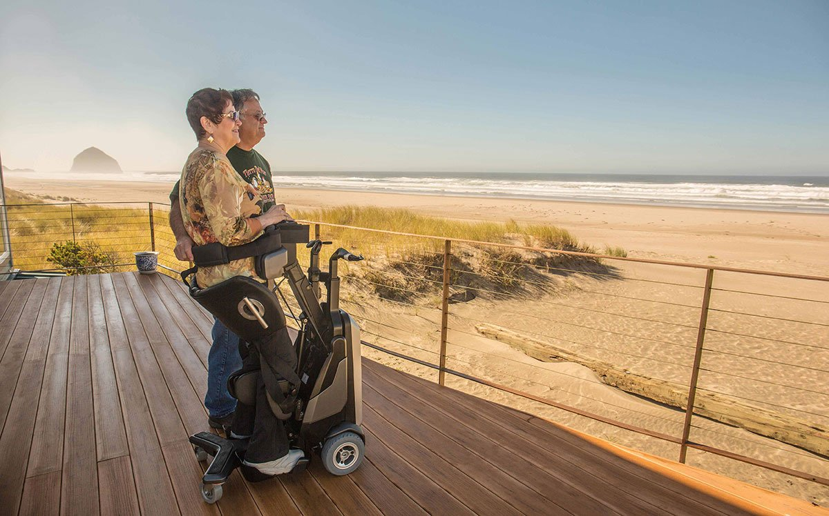 Tek Robotic Mobilization Device Helps Disabled To Stand