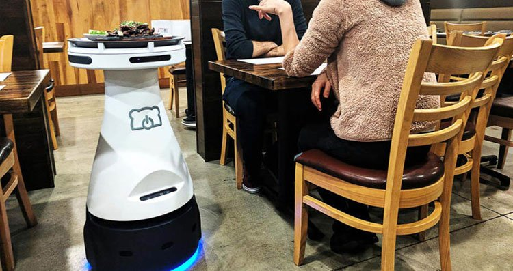 Penny, the robotic waitress, is designed to help servers – not replace them