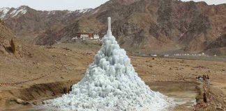 Ice-Stupa-Artificial-Glacier-Ladakh-Himalaya