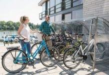 Lockable Bike Garages by Cervotec