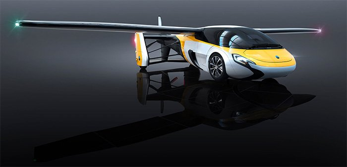 AeroMobil 4.0 STOL: First Electric Flying Car from Slovakia