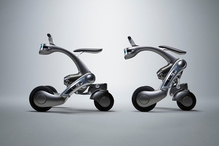 CanguRo smart scooter can follow you around or take you for a ride
