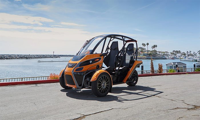 Arcimoto's electric 3‑wheeler defines the Fun Utility Vehicle category