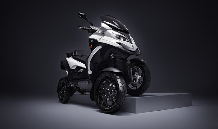 Quadro Qooder tilting four-wheel scooter