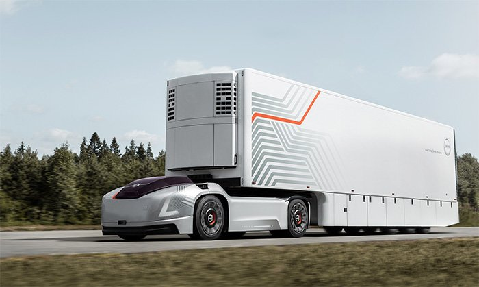 Volvo reveals new self-driving truck called Vera