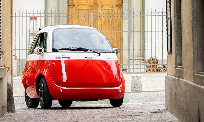 The Microlino electric vehicle surpasses 8,000 pre-orders