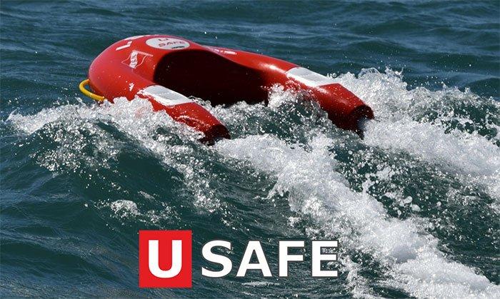 U SAFE® self-propelled, remote-controlled lifesaving float