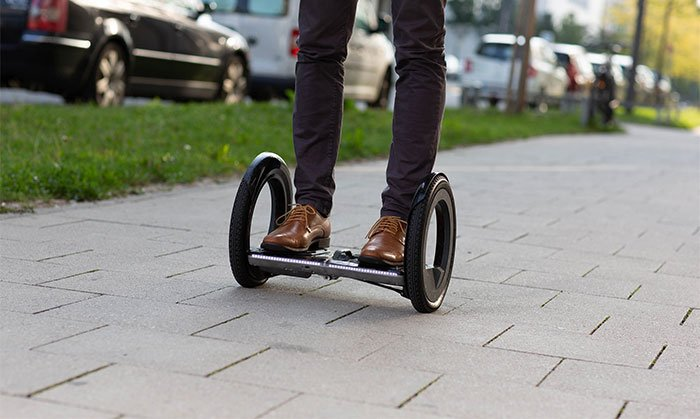 Ultra-light, foldable, self-balancing electric scooter for your last mile