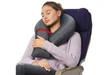 Candy-Cane-Foldable-Modular-Travel-Pillow