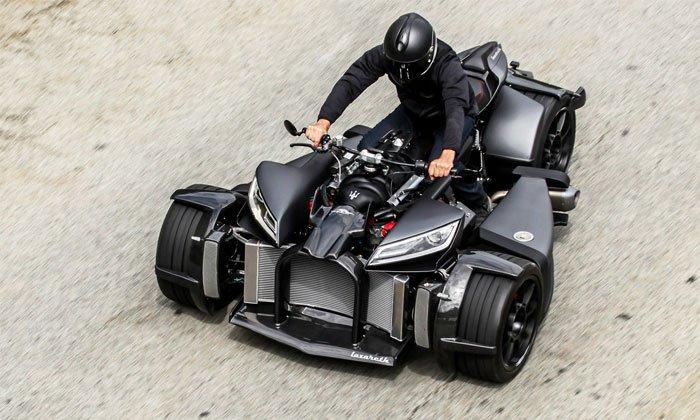 Wazuma V8M by Lazareth – A stunning trike