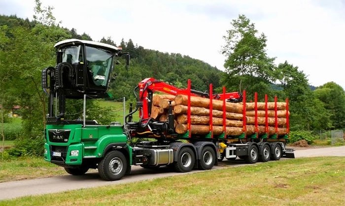 LOGO series semi-trailers: A world first in timber transport