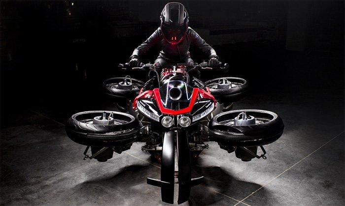 Lazareth LMV 496 La Moto Volante: The flying motorcycle