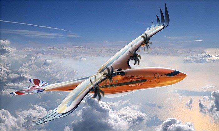 Airbus unveils 'bird of prey' concept plane