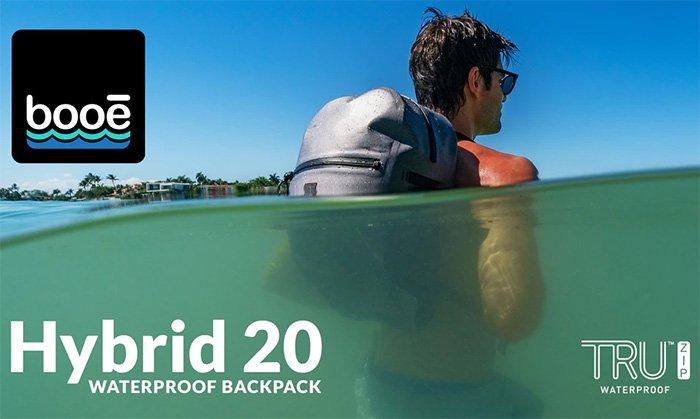 Booē Hybrid 20: Waterproof backpack with TRU Zip™ Waterproof Zippers
