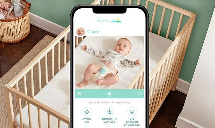 Pampers Lumi: Smart diaper that tracks sleep and pee