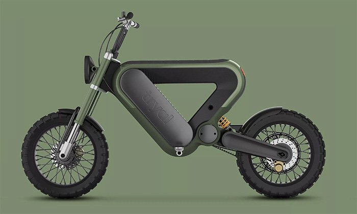 Tryal electric motorcycle concept wins Rizoma Design Challenge