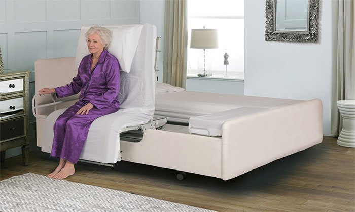 Phenomenal Theraposture Rotoflex Rotating Bed For People With Limited Bralicious Painted Fabric Chair Ideas Braliciousco