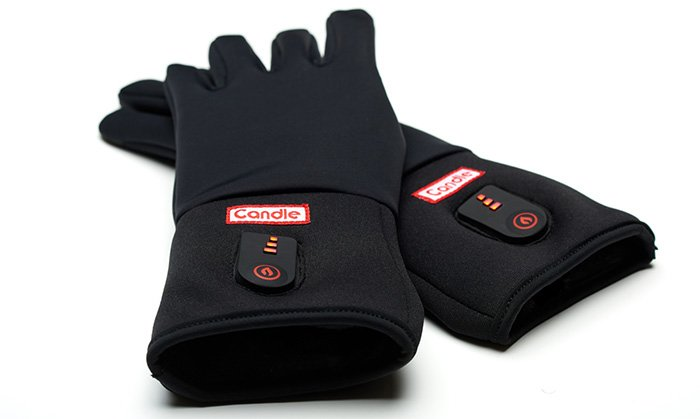 Candle: Rechargeable, battery-heated gloves for the city and the summit