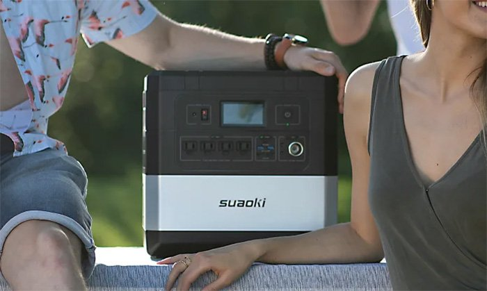 Suaoki Ares: Portable Power Station can charge 12 devices at a time