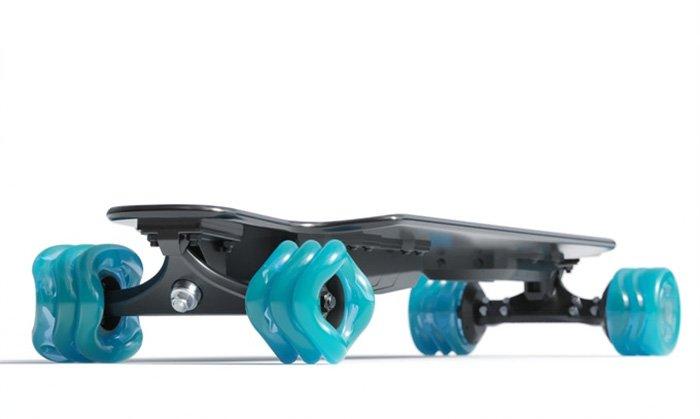 Shark Electric Skateboard with 95mm Shark Wheels