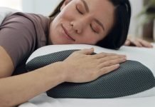 Carbon-SnoreX-Anti-Snore-Pillow