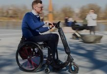 Blumil-Go-Electric-Handbike-Attachment-Manual-Wheelchair