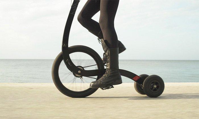 Halfbike-Standing-Bike