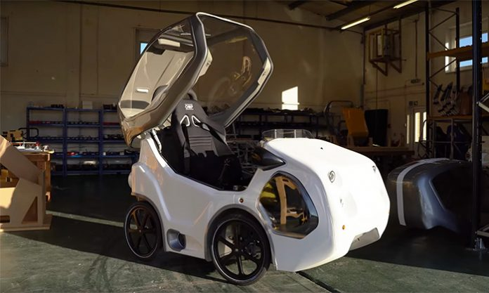 DryCycle-Fully-Enclosed-Pedal-Cycle