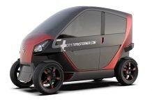 City-Transformer-Electric-Folding-Car