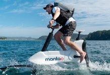 Manta5-Hydrofoil-e-Bike
