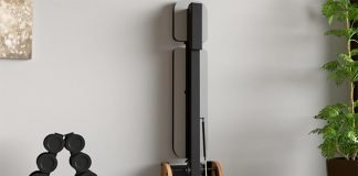 FLiPBENCH-Space-Saving-Wall-Mounted-Incline-Bench