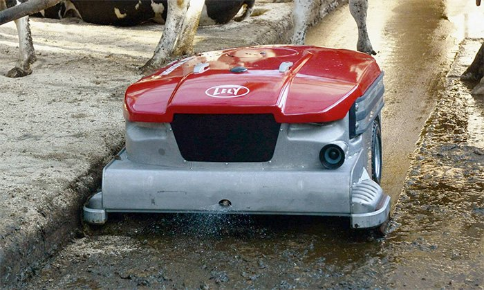 Lely Discovery Collector Sprays Water