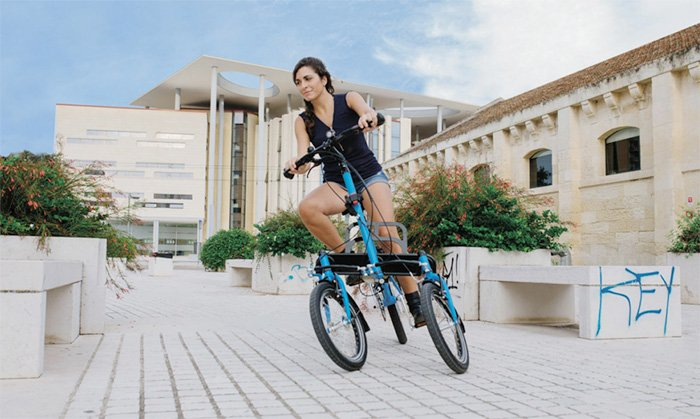 Tris Bike Electric Tilting 3 Wheeled