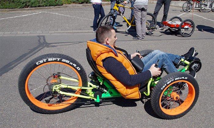 Wild One 4x4 Trike Off Road