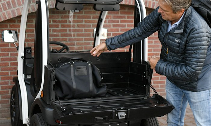 Biro EV Storage Space