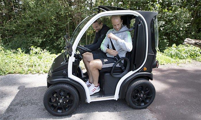 Biro Electric Car Two Seater