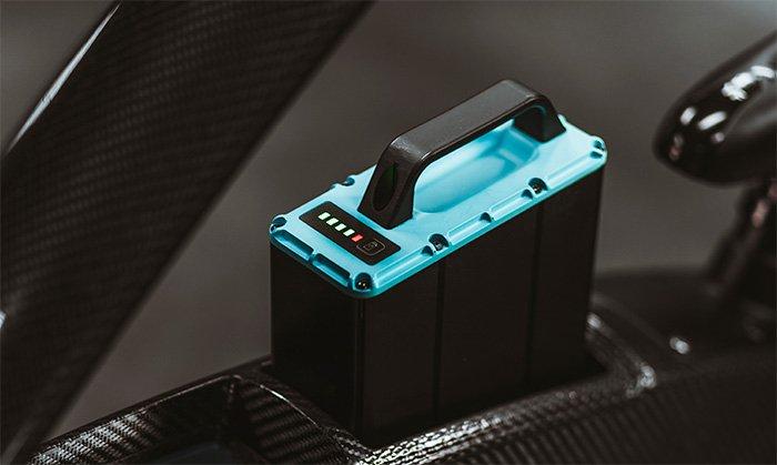 CrownCruiser E-Bike Swappable Battery